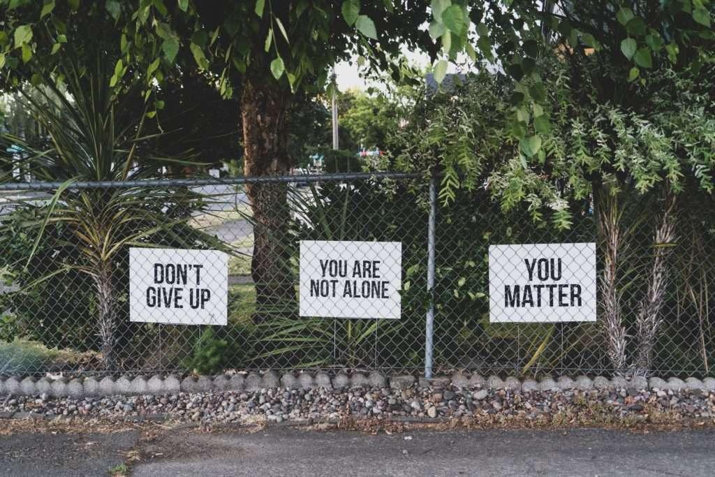 Motivational signs
