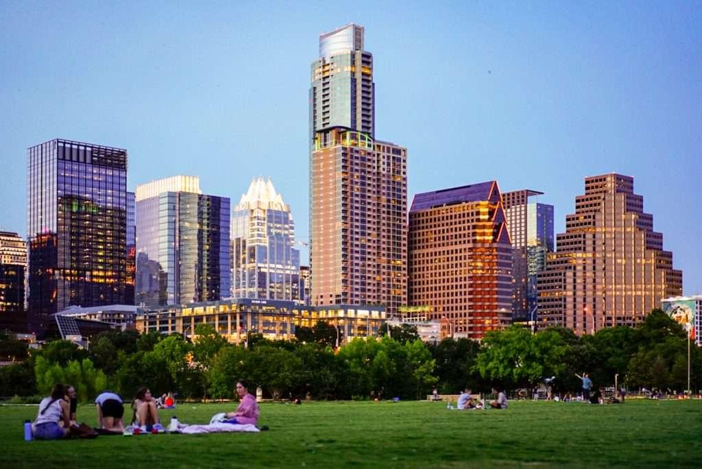 Austin Texas landscape
